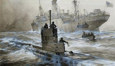Misteri Kapal Selam Nazi Yang Hilang Ditemukan