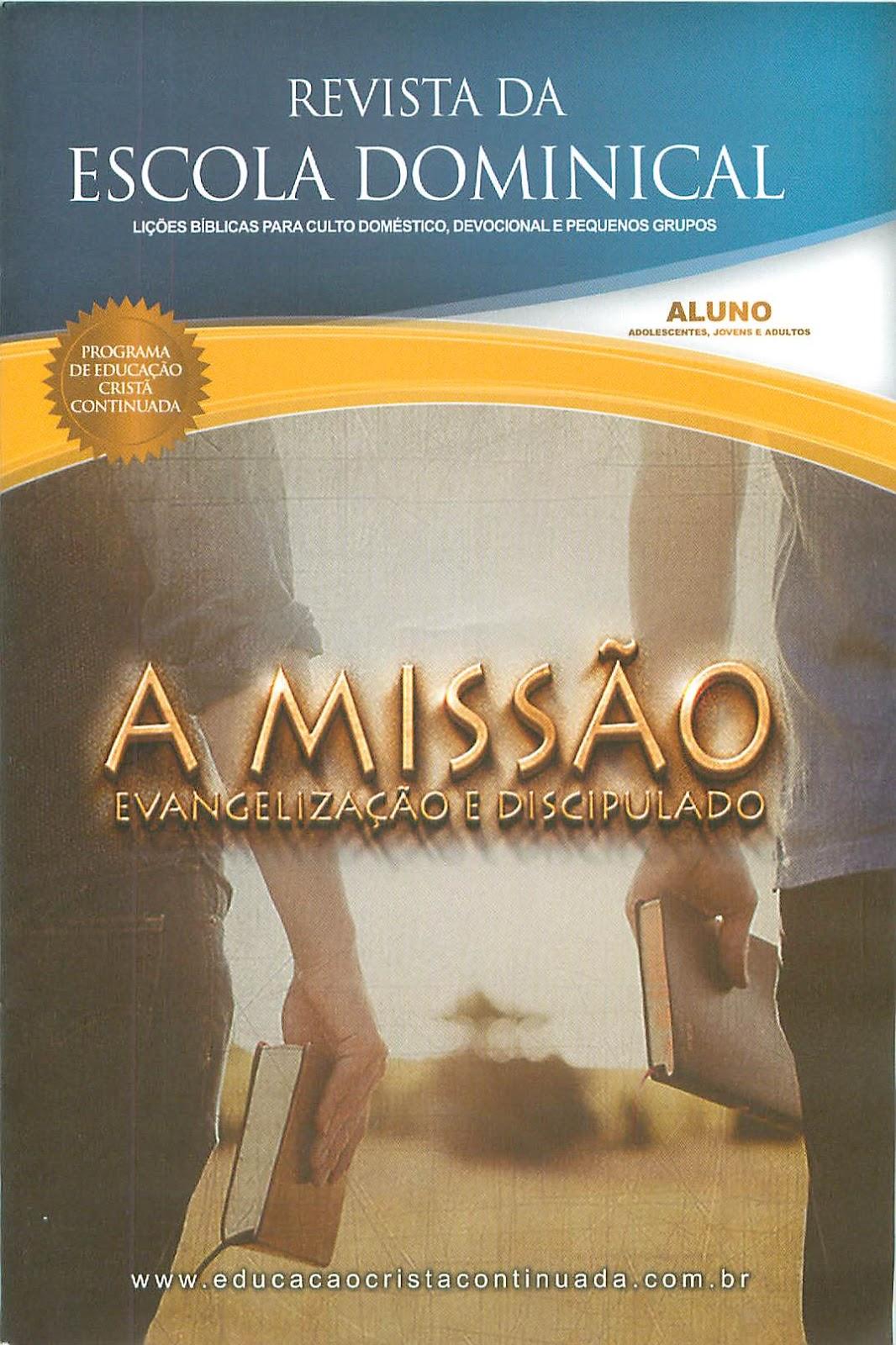 BAIXAR DOMINICAL REVISTA ESCOLA 2011 DA CPAD