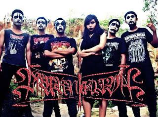 Mournia Diva Band Gothic Black Metal Bangkalan Madura Female Vocal Foto Logo Wallpaper
