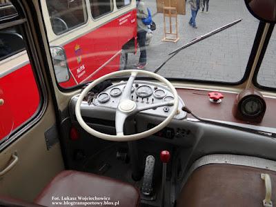 Jelcz 021 - stanowisko pracy kierowcy
