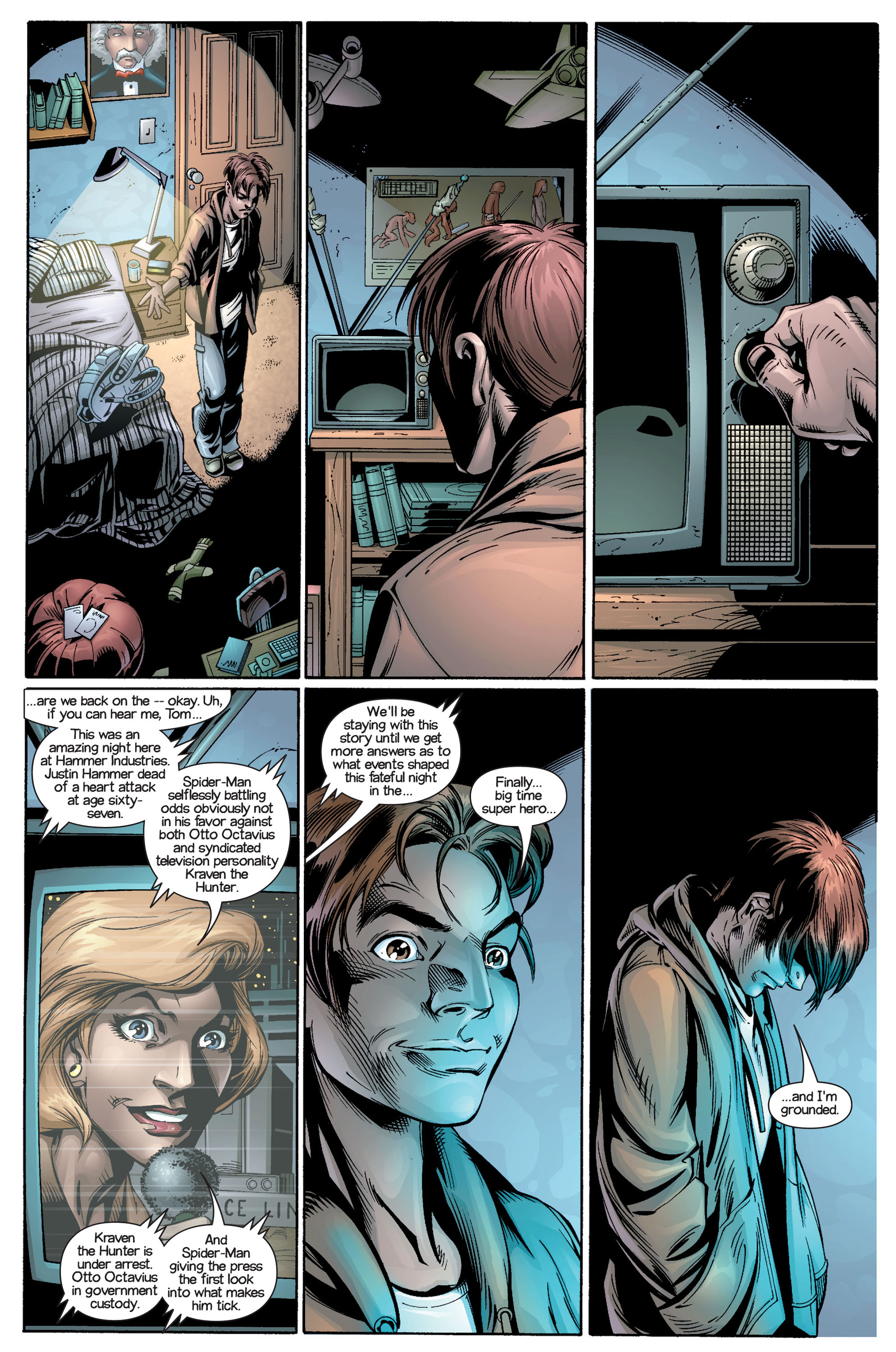 Read online Ultimate Spider-Man (2000) comic -  Issue #21 - 18
