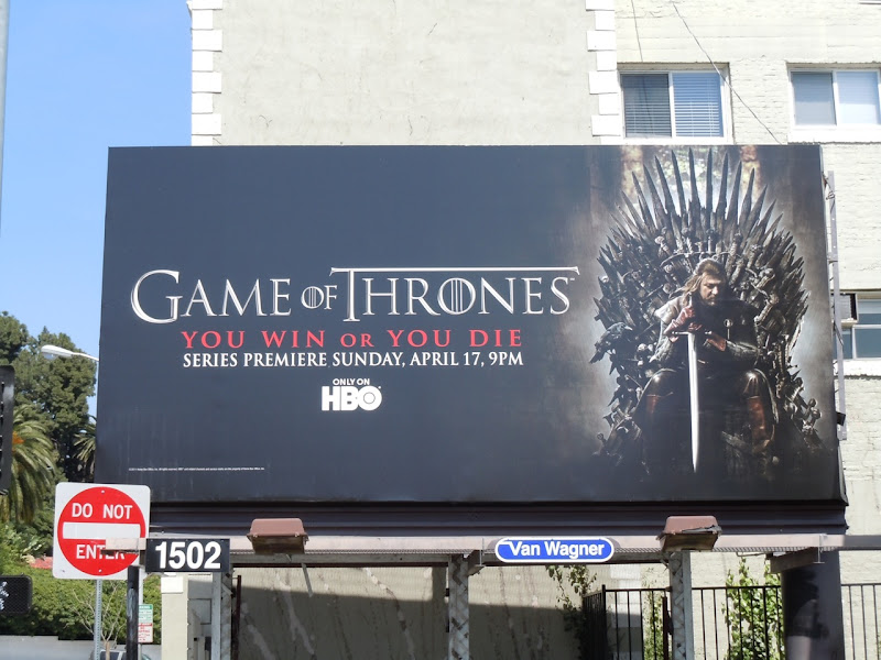 Game of Thrones billboard