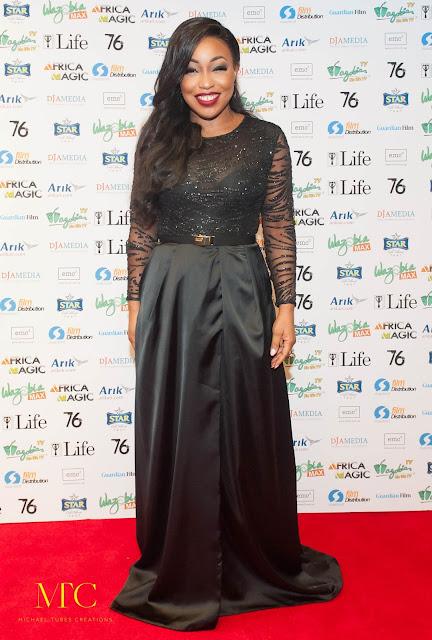 Rita Dominic 76 Movie premiere London