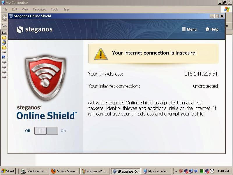 Premium Steganos VPN