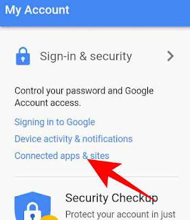 Google account se connected app or site check kese kare 2