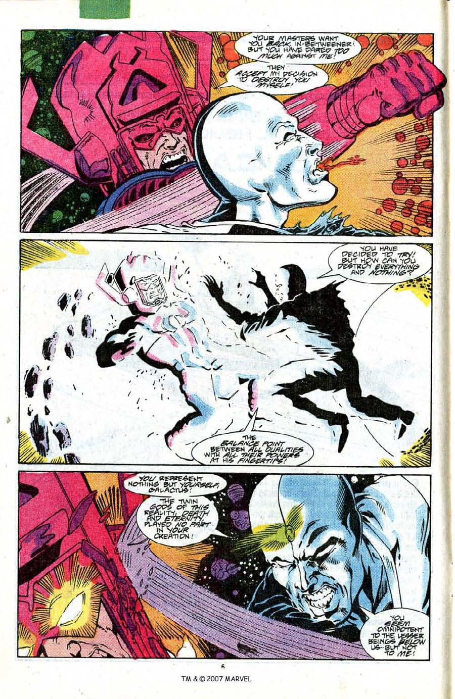 Read online Silver Surfer (1987) comic -  Issue #18 - 8