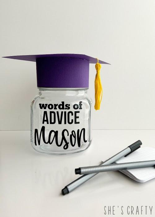 how to make an advice jar for graduate
