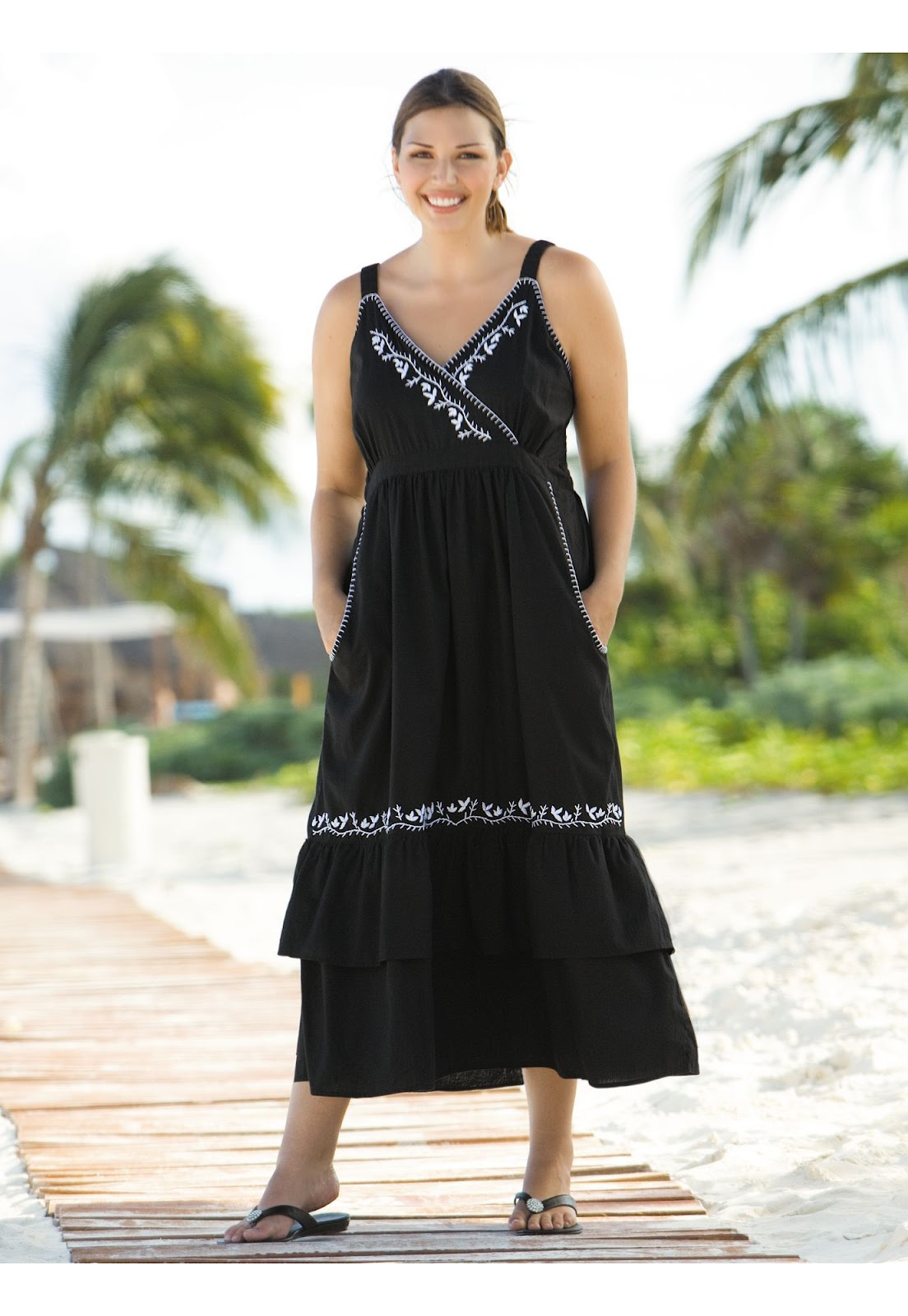 f681c159bd11 Dresses Summer Walmart Plus Size