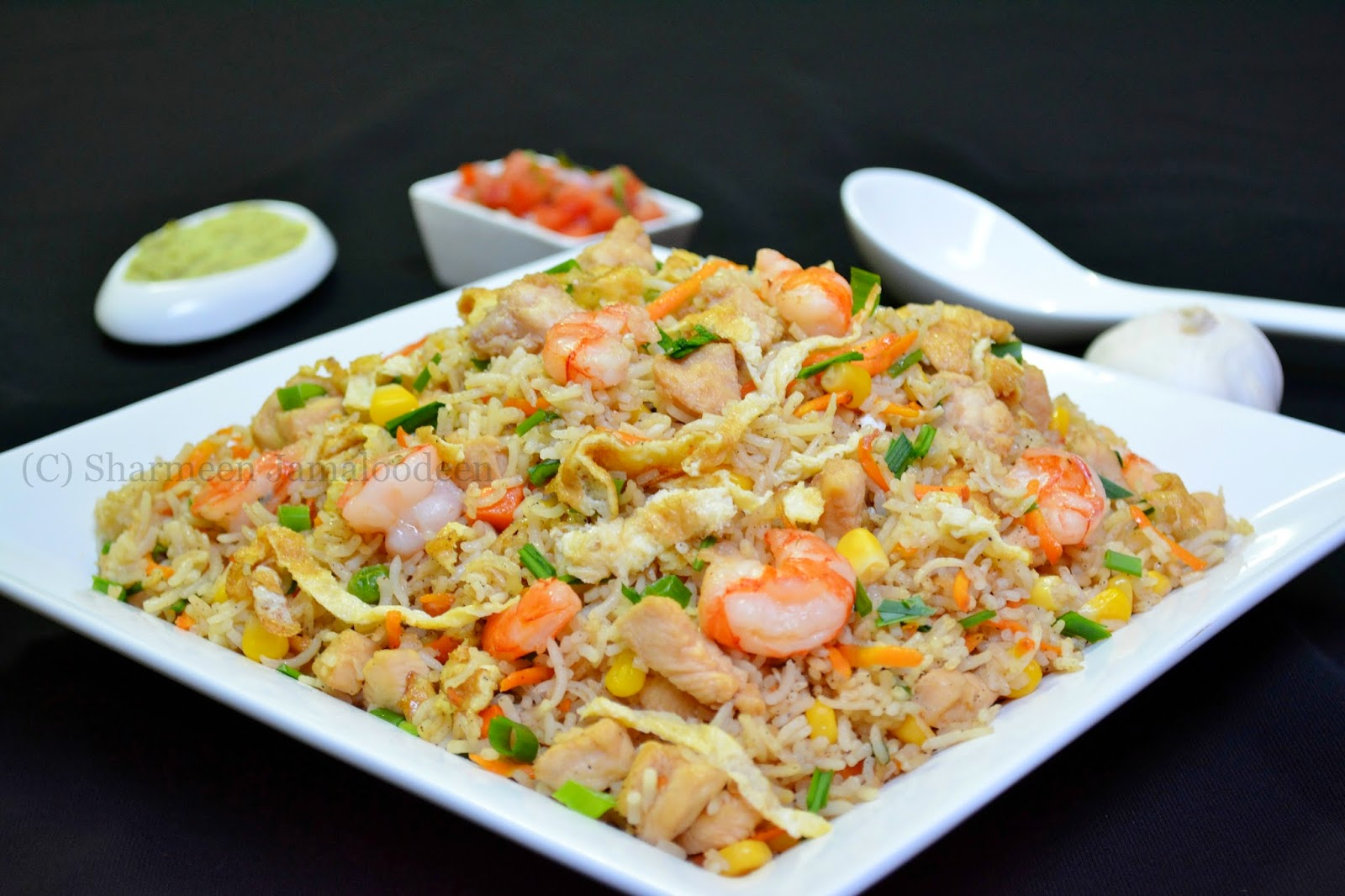 Mauritian Chicken Fried Rice   Confessions Of A Foodaholic
