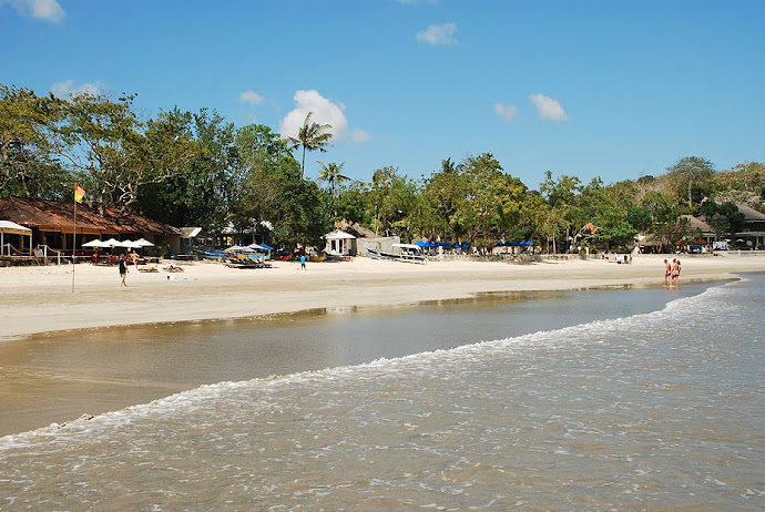 Playa de Jimbaran, en Bali