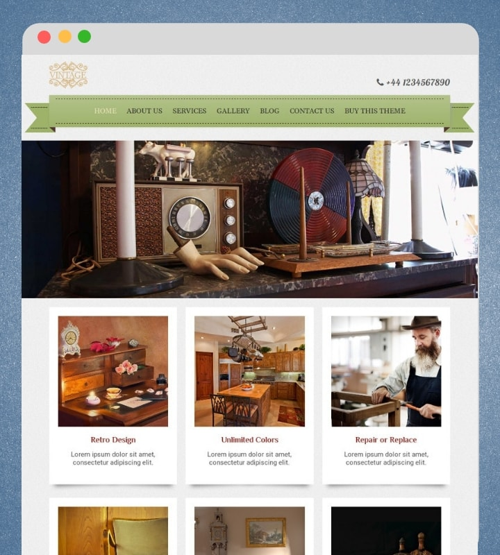 iRibbon Pro 2 (Premium Retro Vintage WordPress Theme)