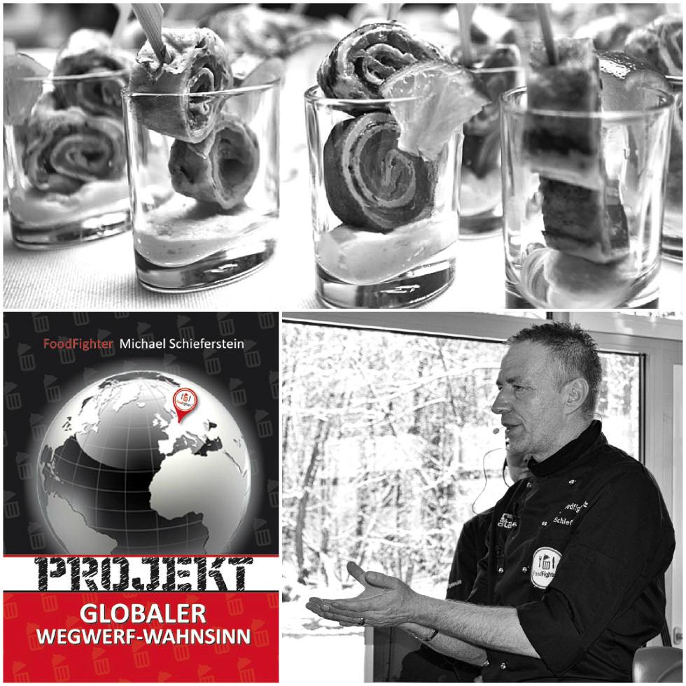 FoodFighter Michael Schieferstein, Autor des Buches Projekt Globaler Wegwerf-Wahnsinn.