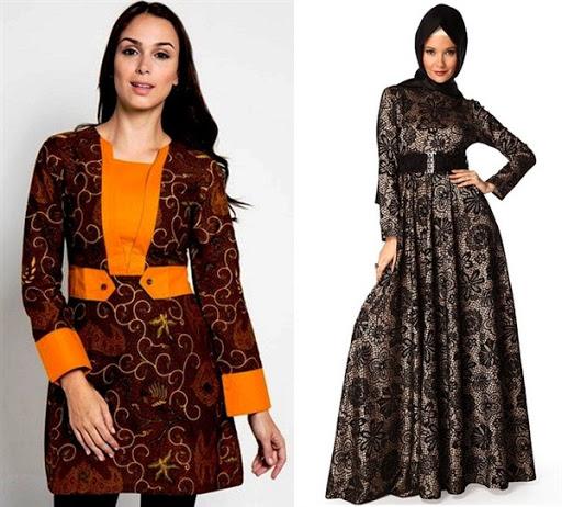 dress batik formal