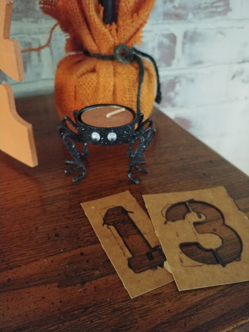 spider candle holder
