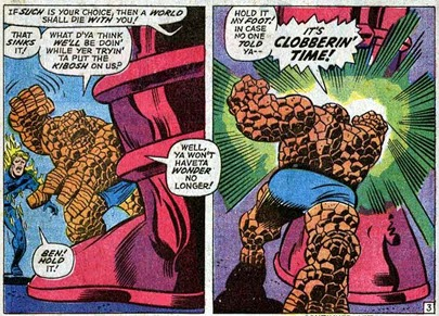 Fantastic Four 122 Galactus Unleashed