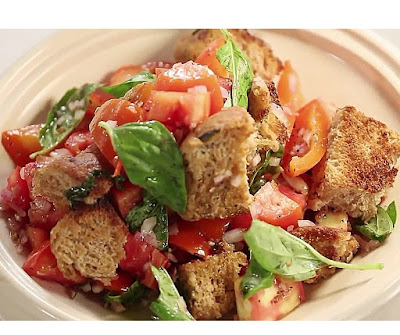 How to make panzanella salad at home