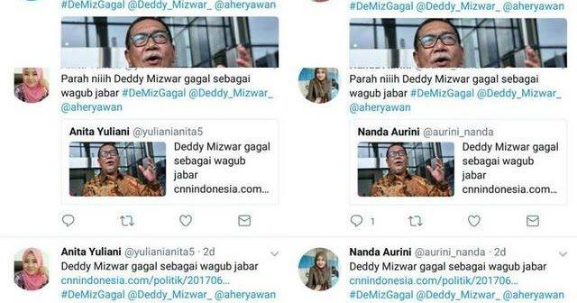 Cebong Army Mulai Beraksi, Deddy Mizwar Diserang, Dana Sudah Cair Ya?