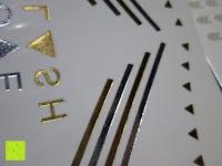 Nahansicht: Original FLASH TATTOOS - Die beliebten Gold Tattoos der Stars aus USA - Temporäre Tattoos (Dakota)