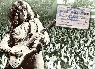 Ο Ρόρυ Γκάλαχερ στην Αθήνα το 1981 (Rory Gallagher Αφιέρωμα και Βίντεο)