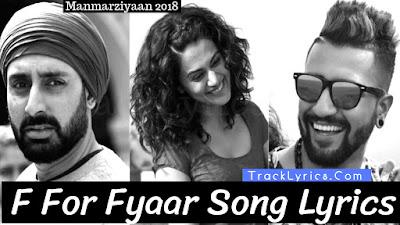 f-for-fyaar-song-lyrics-abhishek-bachchan-taapsee-pannu