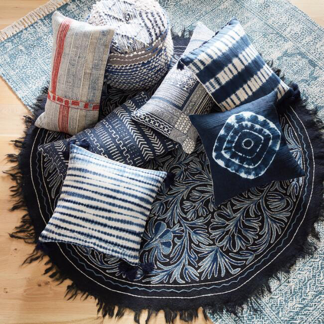 Shibori Pillows