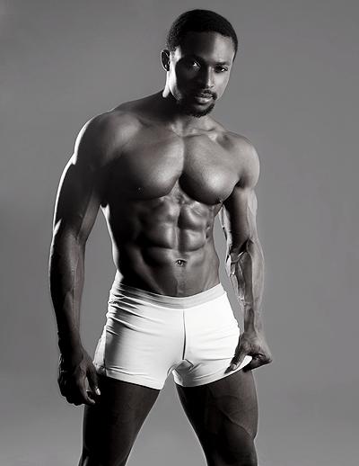 black handsome man in the world