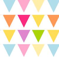 free bunting pattern paper