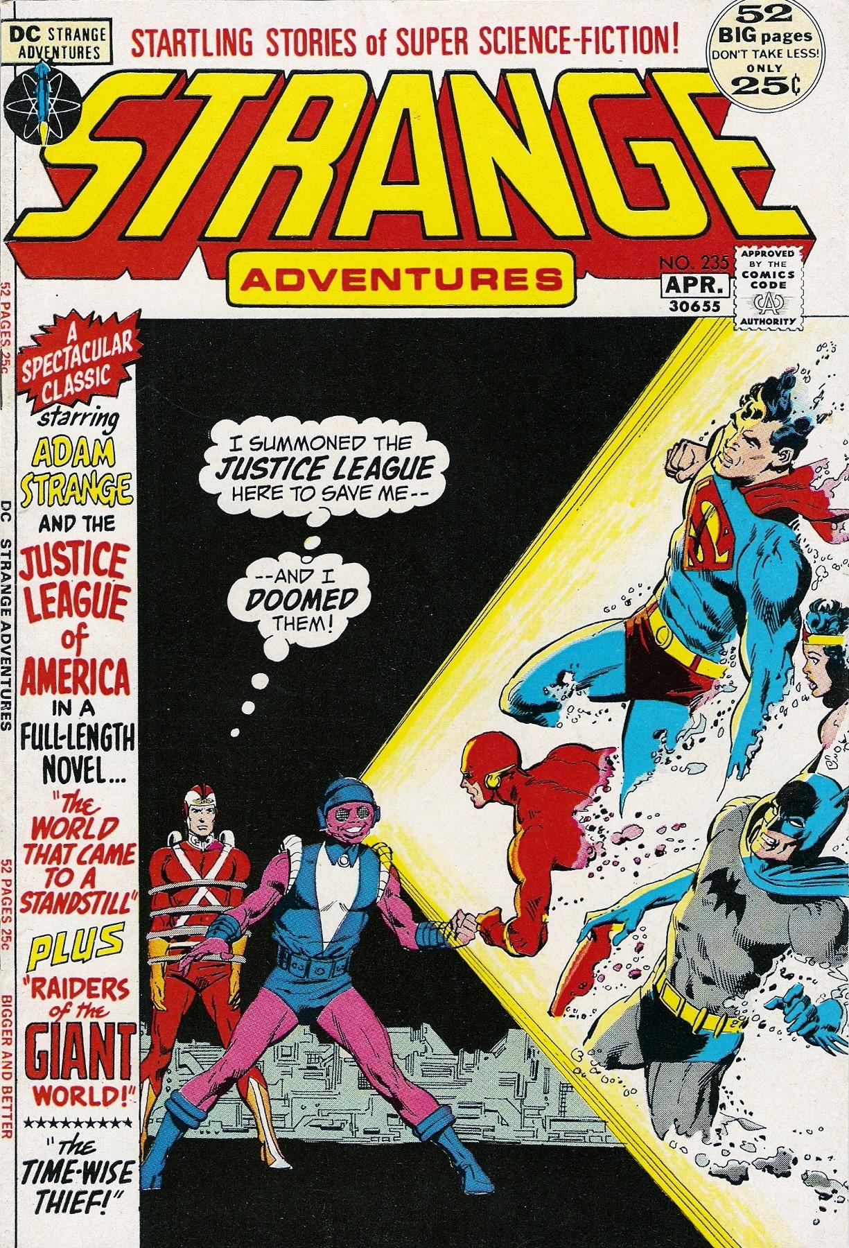 Strange Adventures (1950) issue 235 - Page 1