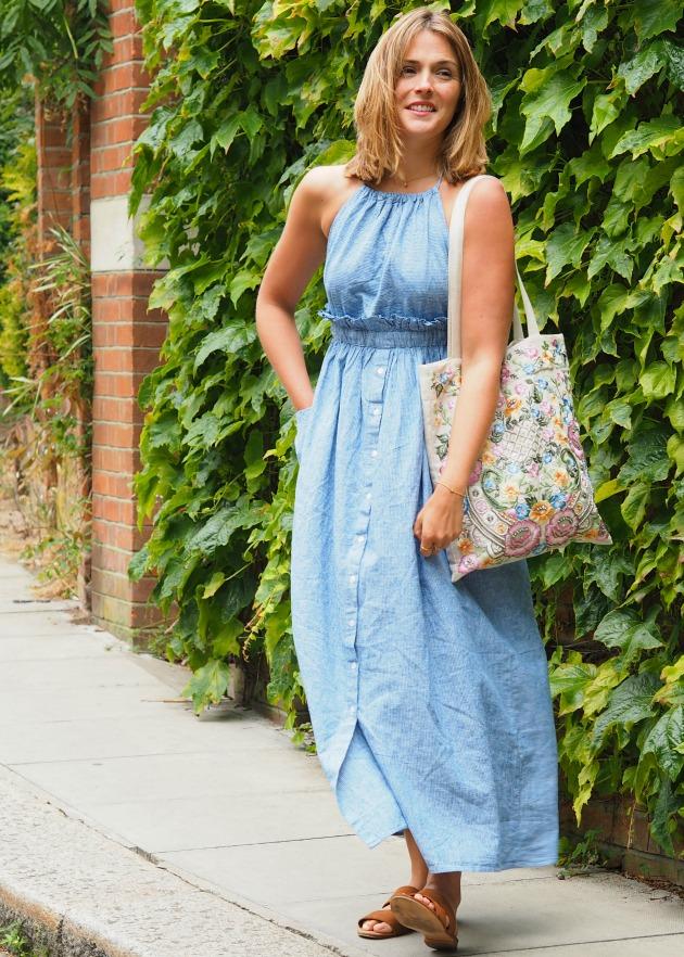 6a893c40 Mango Stripe Dress | South Molton St Style | Bloglovin'
