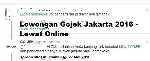 loowngan gojek jakarta, lowongan gojek online, lowongan gojek 2016 terbaru, lowongan gojek online jakarta 2016