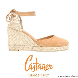 Kate Middleton wore Castañer Carina canvas wedge espadrilles