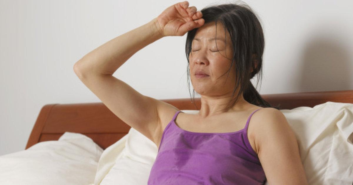 Sintomas da Menopausa: Suores noturnos