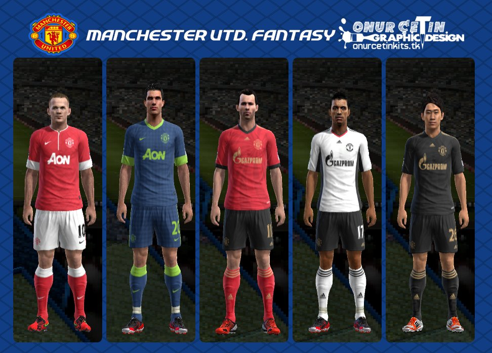 Pes-modif: Download Fantasy Kits Manchester United By Onur Cetin