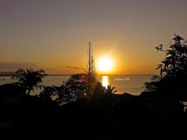 Pousada House Residência - Pôr do Sol na Praia de Manguinhos