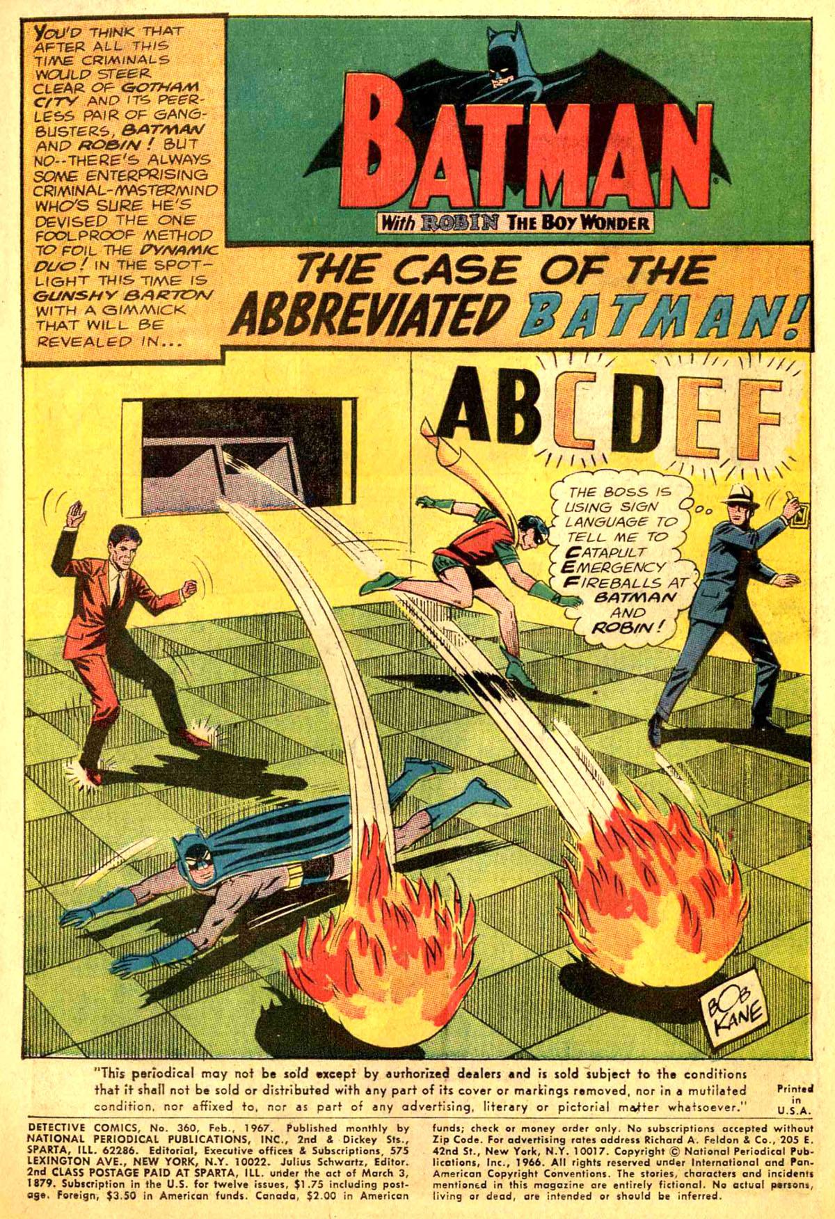 Detective Comics (1937) 360 Page 2