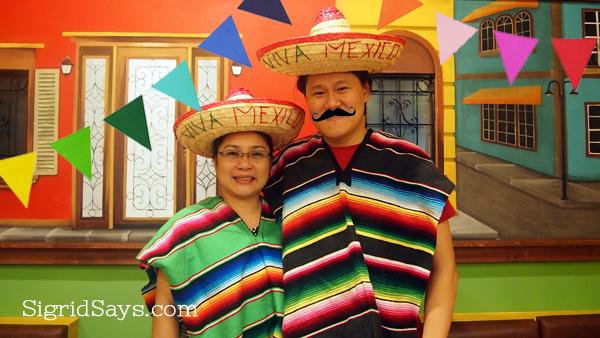Mexican ponchos