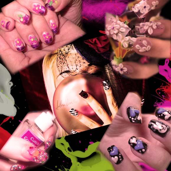 Ratu Mefi : Nail Art