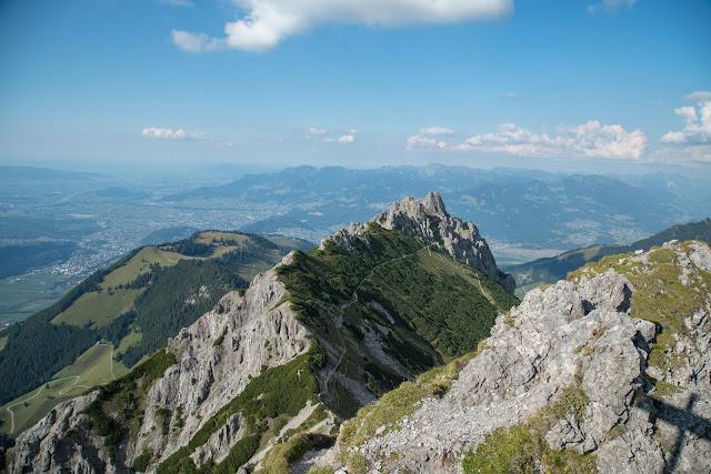 Fürstensteig  Gafadura Hütte - Drei-Schwestern - Gaflei  Wandern in Liechtenstein 09
