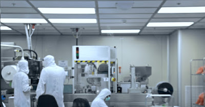 Workers in Medical Cleanroom