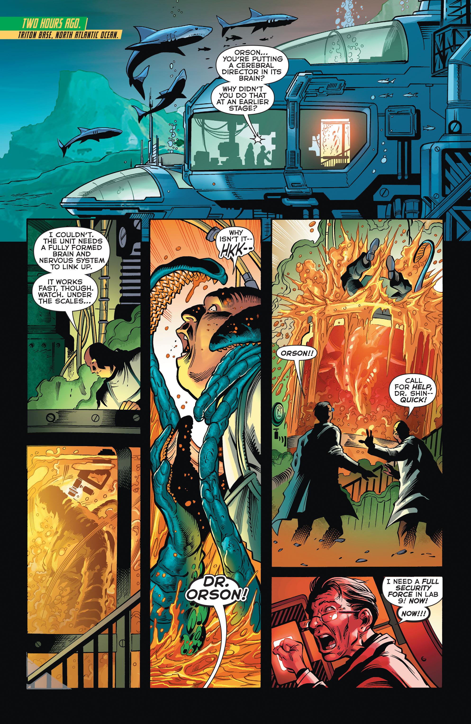 Read online Aquaman (2011) comic -  Issue #32 - 4