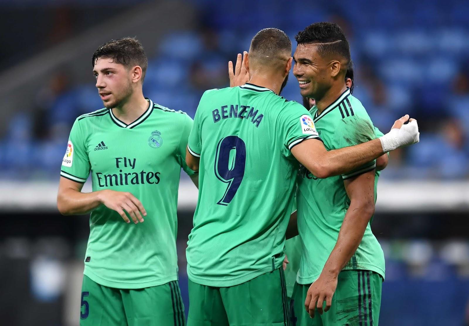 Real Madrid superó a Espanyol y pasó a liderar La Liga