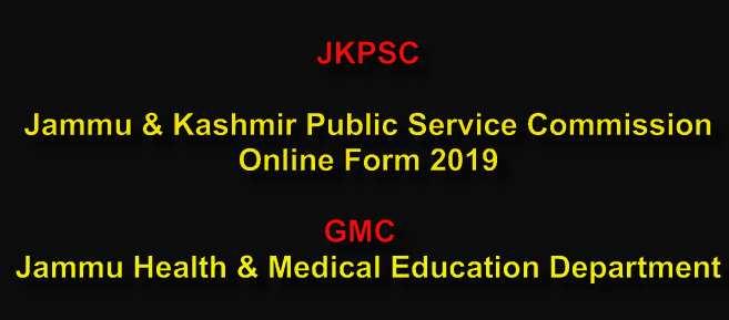 GMC Jammu JKPSC