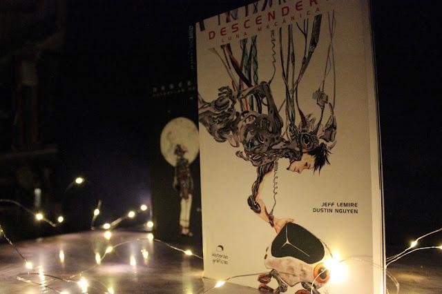 Luna Mecánica es la segunda parte de la novela gráfica Descender