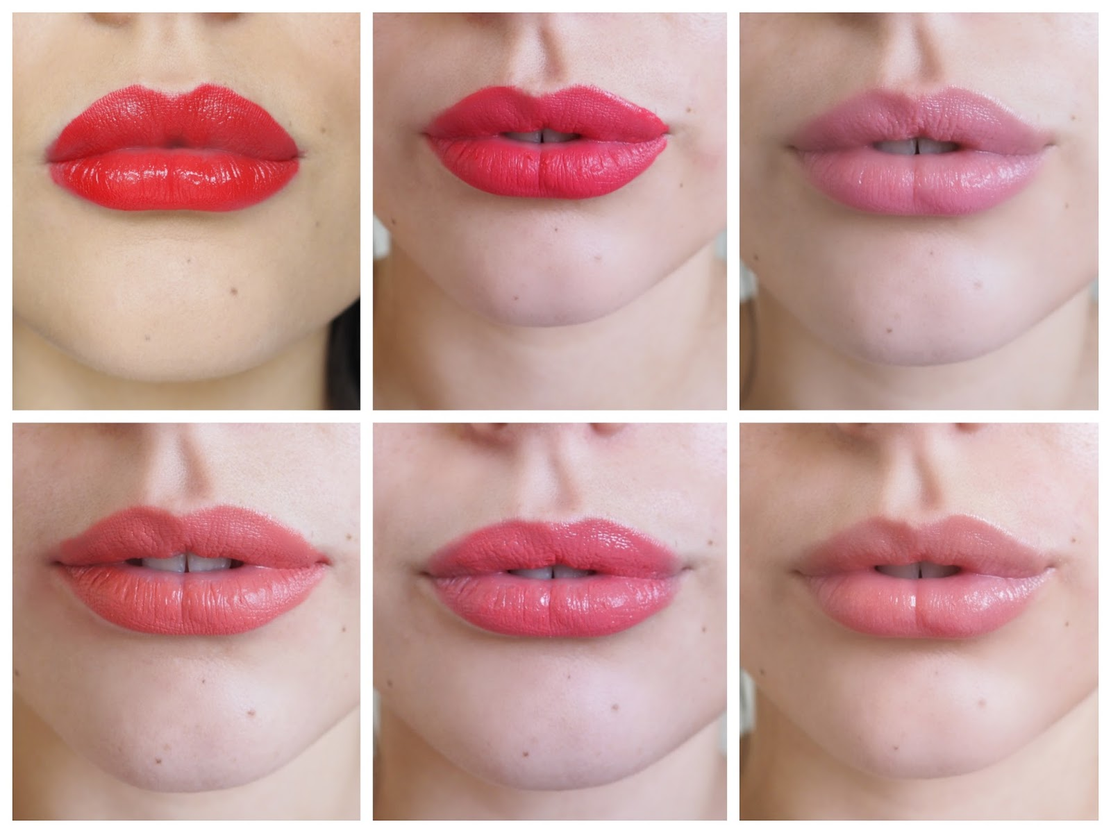 It's Cultured Spring/Summer Lip Colours Swatches on Lips