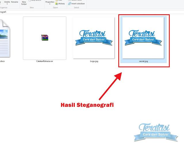 File Gambar Hasil Steganografi - Menyembunyikan File ke dalam File Gambar Dengan Teknik Steganografi - Teratasi.com