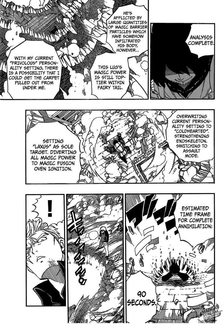 Fairy Tail Ch.472 - Laxus vs. Wahl