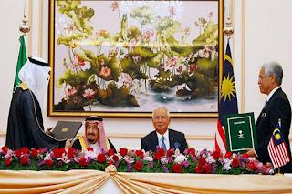 """Bukan hanya di indonesia, Sentimen Anti-China dan Investasi """"Gila-gilaan"""" Arab Saudi Juga terjadi di Malaysia - Commando"""