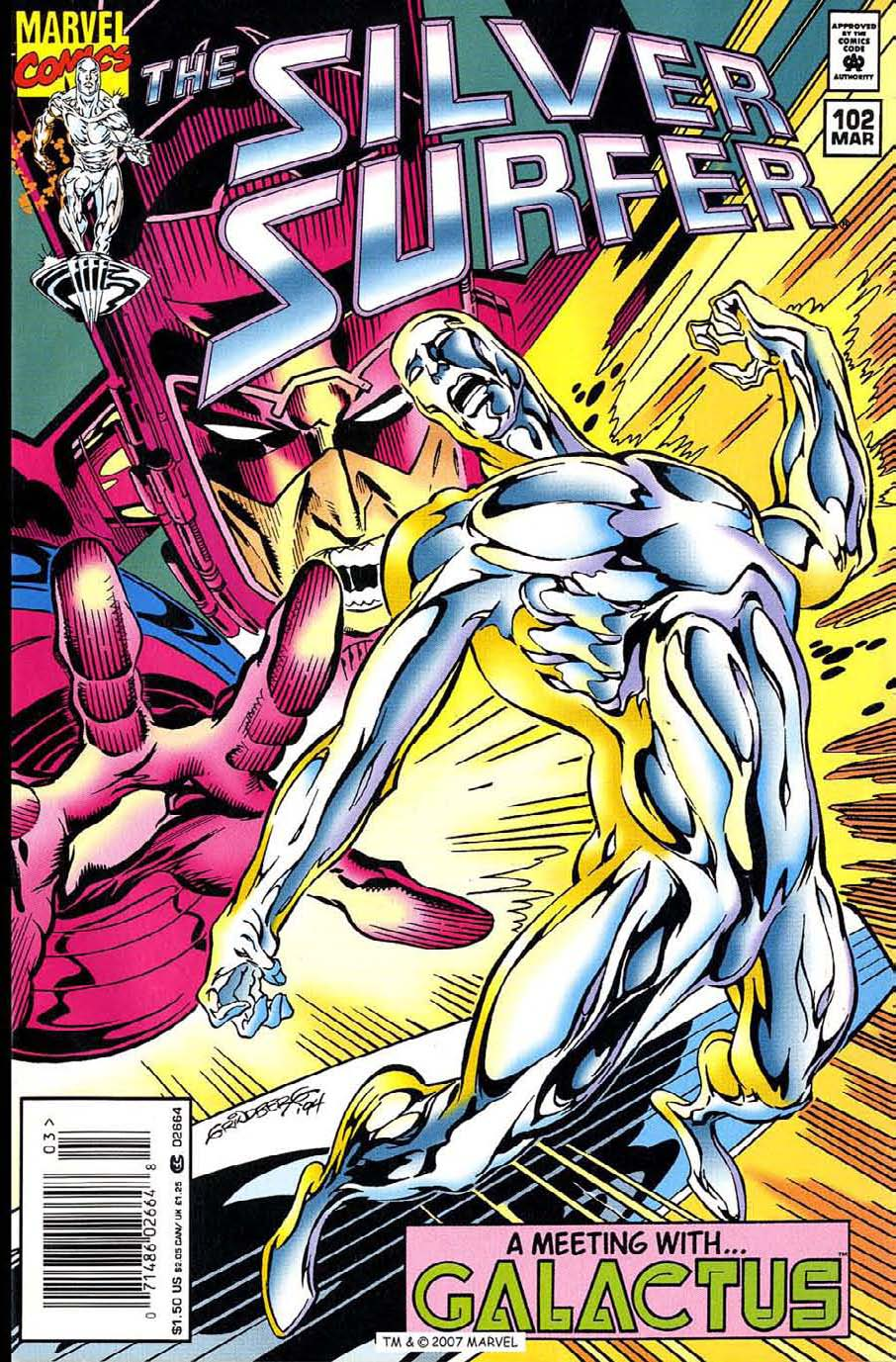 Read online Silver Surfer (1987) comic -  Issue #102 - 1