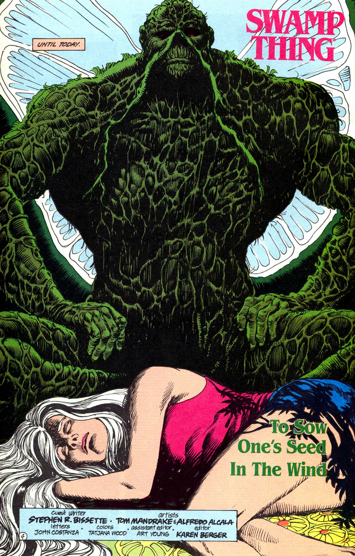 Swamp Thing (1982) Issue #78 #86 - English 5