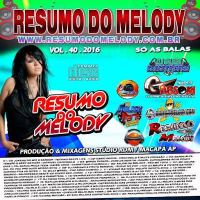 CD RESUMO DO MELODY VOL.40